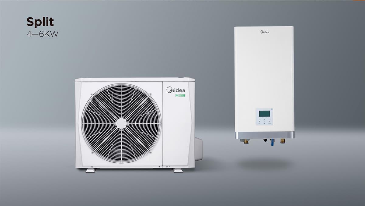 Midea split 4-6 kW