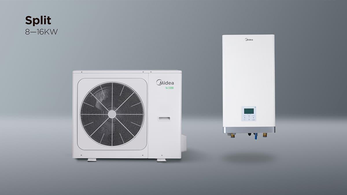 Midea split 8-16 kW