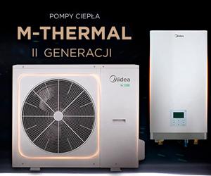 ompy ciepła Midea M-Thermal II
